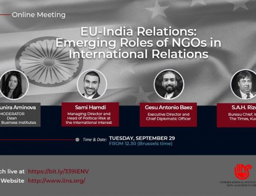 Online Meeting on EU – INDIA relations on September 29, 2020