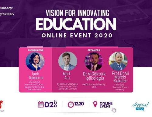Vision for Innovating Education – Online Event 2nd October 2020